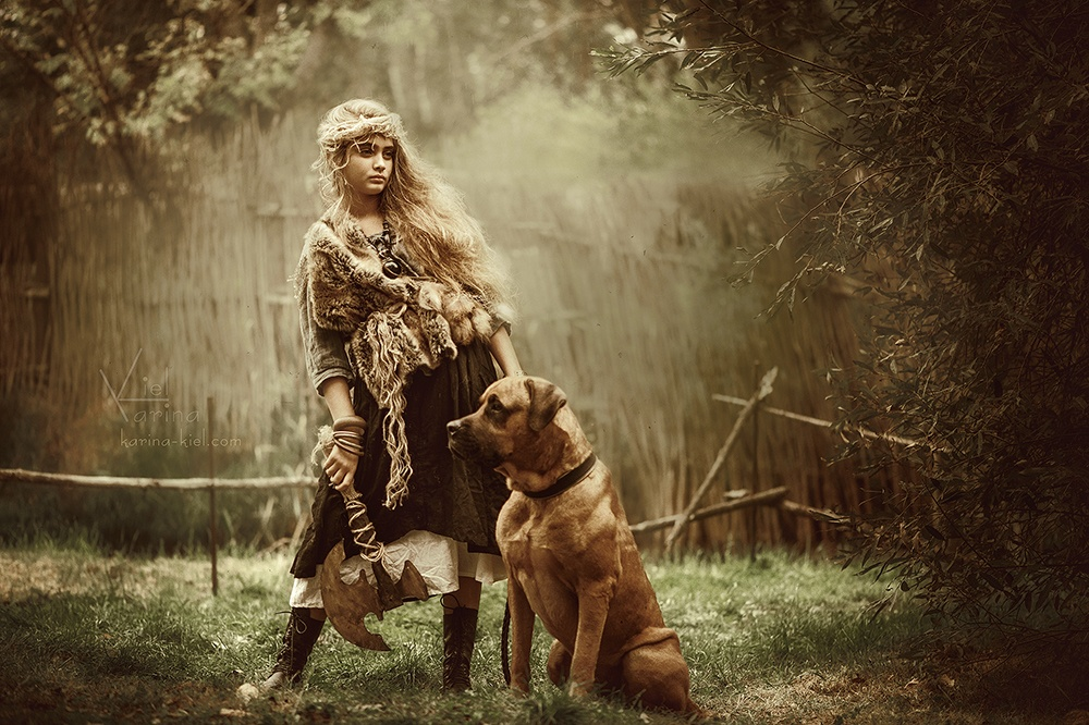 Children's wonderland: Magic photography of kids by Karina Kiel - 34