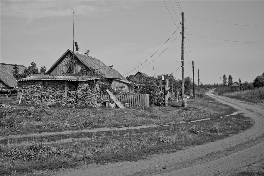 Photo project Forgotten Russia: Forlorn and dying villages - Gladskoye - 05