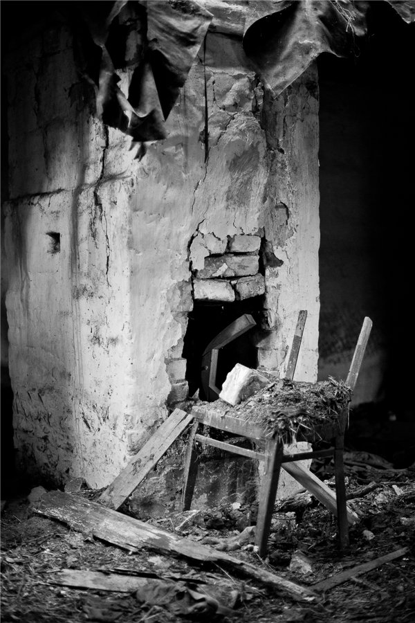 Photo project Forgotten Russia: Forlorn and dying villages - Kryuchki - 03