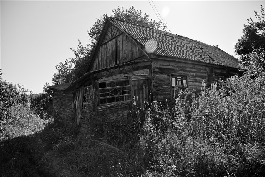 Photo project Forgotten Russia: Forlorn and dying villages - Pozhar - 04