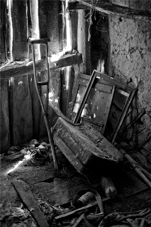 Photo project Forgotten Russia: Forlorn and dying villages - Pozhar - 06