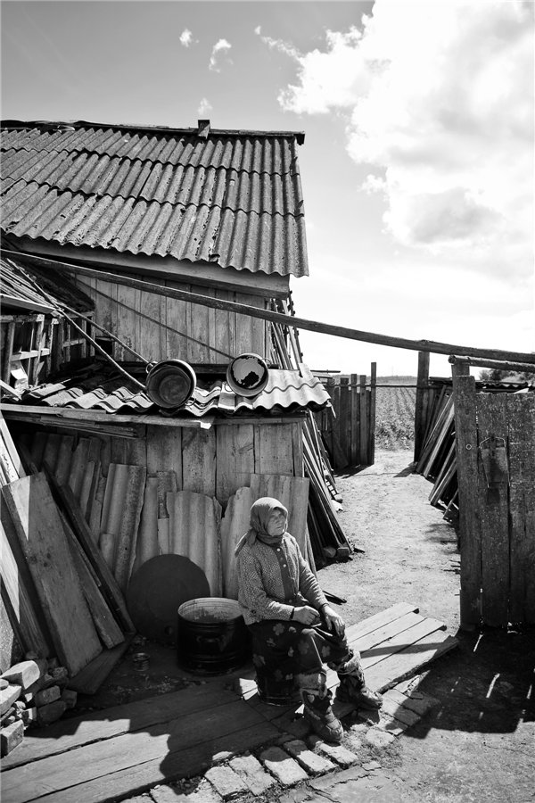 Photo project Forgotten Russia: Forlorn and dying villages - Shapkino - 01