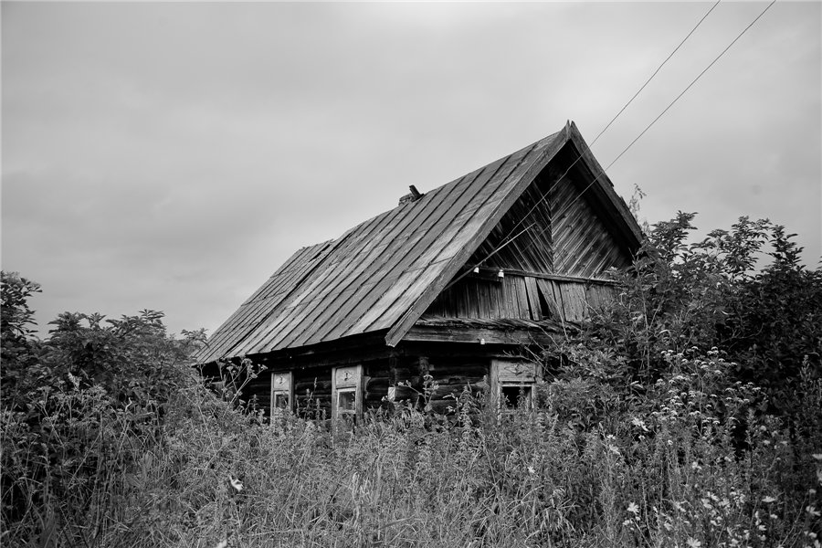 Photo project Forgotten Russia: Forlorn and dying villages - Urukovo - 01