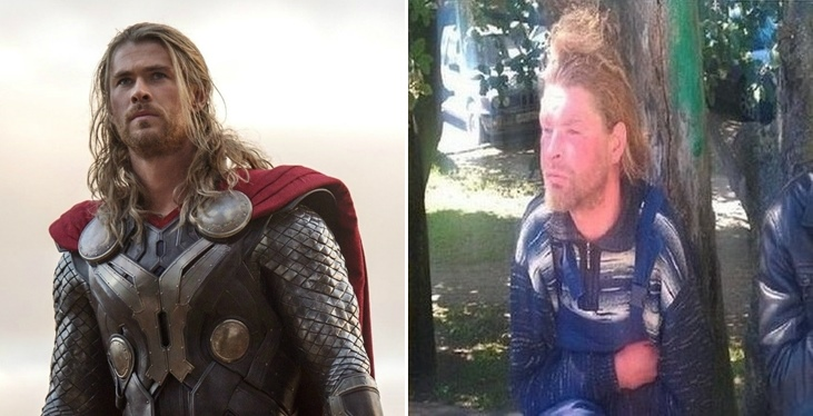 Chris Hemsworth after living in Russia