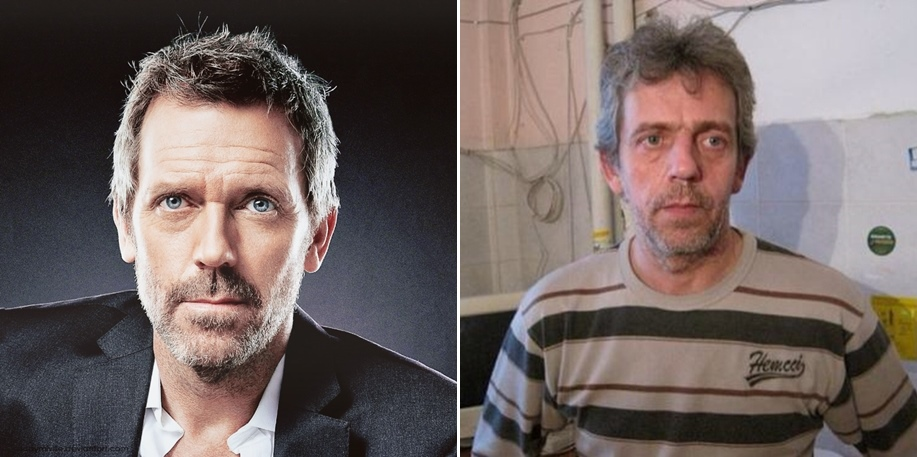 Hugh Laurie after living in Russia